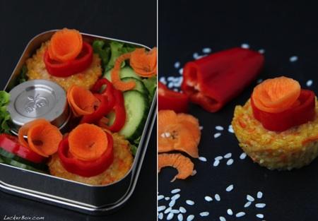 leckerbox 88 risotto muffins. Black Bedroom Furniture Sets. Home Design Ideas